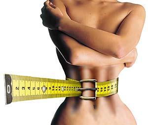 As preocupações com o peso levadas ao extremo