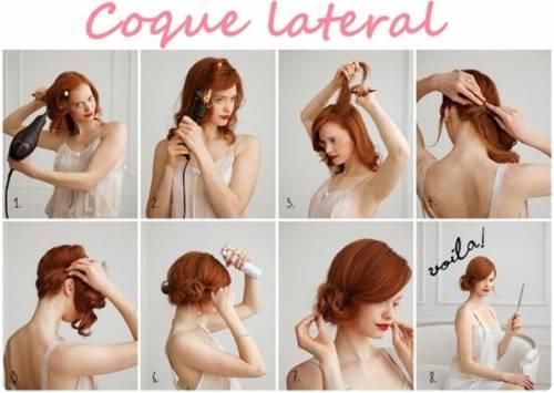O penteado ideal para uma festa ou jantar de gala