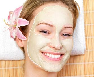 Máscaras faciais naturais para vários tipos de pele