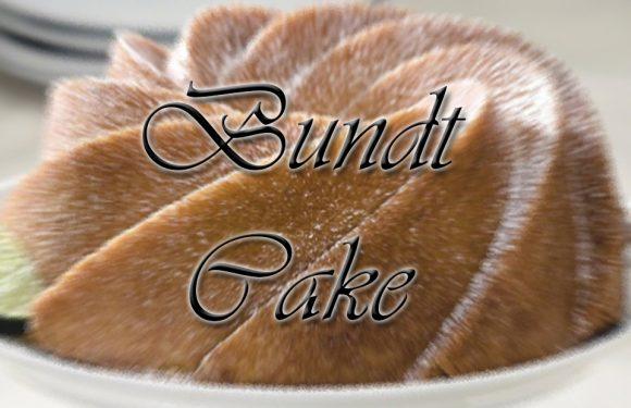 National Bundt Cake Day